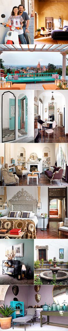 Global Style: Casamidy. Mediterranean and Mexican inspired interiors.@Nicole McAfee