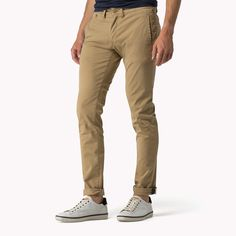 ad64244eea7847 The Slim Fit Chinos is the seasons highlight  from the latest Tommy Hilfiger  trousers collection for men. Free returns   delivery over 50£.