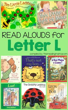 Read Alouds Book List for the Letter L | This Reading Mama