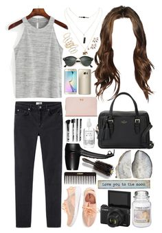 """""""Outfit #250"""" by all-icreate ❤ liked on Polyvore featuring Acne Studios, Wet Seal, BP., Ray-Ban, Samsung, Ted Baker, GHD, Kate Spade, Torrid and Herbivore"""