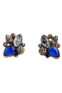 Elegant Rhinestone Earrings Wholesale Mulit Color Retro Pendientes Stud Earrings Jewelry Just look, that`s outstanding! Rhinestone Earrings, Women's Earrings, Crystal Earrings, Crystal Resin, Cheap Earrings, Cluster Earrings, Crystal Cluster, Cute Jewelry, Jewelry Accessories