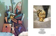 Vanessa Beecroft, Vogue Ukraine, Art Issue, Fashion and Art