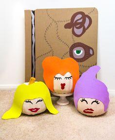 DIY Hocus Pocus Witch Pumpkins!