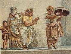 Existían  diversos  tipos de representaciones  teatrales. Las  cuales  tenian  sus   características   especificas   Ejemplo. El verso Fescenninos que  era  de caracter burlesco. Danza inmitativa que  era  hacía  una divinidad o para añejar algún peligro.  Danzas estruscas  Histriones  bailada  al  son de la  flauta.