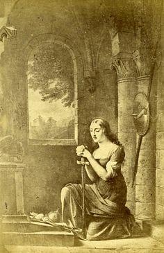 Joan of Arc Joan D Arc, Saint Joan Of Arc, St Joan, Jeanne D'arc, Catholic Saints, Patron Saints, Eleanor Of Aquitaine, Our Father In Heaven, Medieval