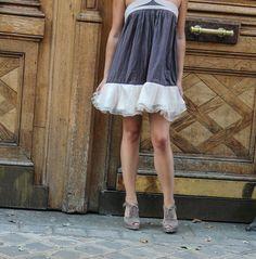 DIY transformer un haut en robe