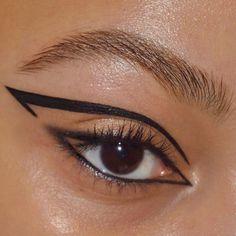Edgy Makeup, Makeup Eye Looks, Eye Makeup Art, No Eyeliner Makeup, Cute Makeup, Skin Makeup, Makeup Inspo, Makeup Inspiration, Beauty Makeup