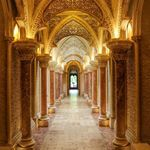 The stunning golden Arabesque hallways of Monserrate Palace in Sintra Portugal Absolutely loved spending a couple of hours here though you could easily spend an afternoon here exploring the Palace and its grounds Sintra Portugal Palace Explore Travel Traveler Explorer Traveller Adventure ExploreFromAbove Landscape Wanderlust Travelphotography Earthfocus Theglobewanderer Awesomeearth Beautifuldestinations Ourplanetdaily Earthpix AwesomePhotographers TravelAwesome Inspiredbyyou…