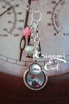 Mothers day present and push present ideas.  Don't be to late. Shop directly at elenas.origamiowl.com and I will help you build your necklace, including a preview of what to expect!! Questions email adoreandaspire@gmail.com  Living locket, necklace, custom jewelry, changeable, perfection