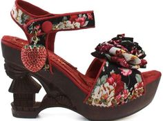 The Irregular Choice Oriento Sun Shoes Have Oriental Flair #Shoes #Footwear trendhunter.com