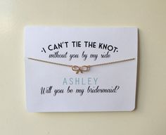 Pop the important question to your bridesmaids/maid of honor with this unique gift. Serves as a greeting card and also attached is a gold colored