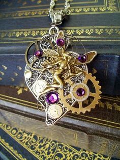 nice HOW TO MAKE --Steam Punk Jewelry and other items....