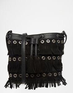 Urban+Originals+Fringed+Bucket+Bag