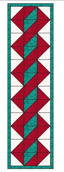 Easy Table Runner Neneng Quilt Projects Pinterest