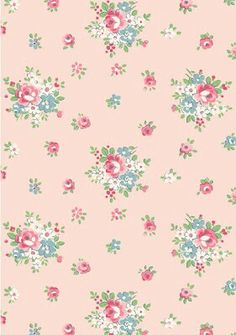 This cath kidston flower pattern is really cute!