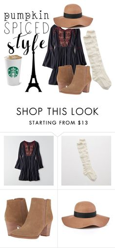 """""""Bell Sleeve"""" by karinasoto39 on Polyvore featuring American Eagle Outfitters, Aerie, Franco Sarto and Reiss"""
