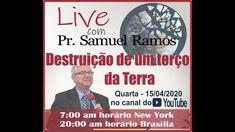 DESTRUIÇÃO DE UM TERÇO DA TERRA Pastor Samuel, Samuel Ramos, Youtube, Pasta, Noodles, Youtubers, Youtube Movies