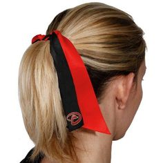 MLB Arizona Diamondbacks Streamer Ponytail Holder by Football Fanatics. $5.50. Arizona Diamondbacks Streamer Ponytail HolderRibbon bow detailOfficially licensed MLB productElastic bandPerfect for game dayScreen print graphicsElastic bandRibbon bow detailScreen print graphicsPerfect for game dayOfficially licensed MLB product