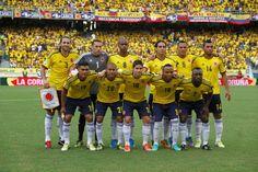 Nuevamente Muchas Gracias a Nuestra Selección Colombia por brindarnos la alegria de ir al Mundial de Brasil además como cabeza de serie :)