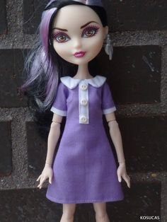 Dress for Ever After High dolls. por Kosucas en Etsy