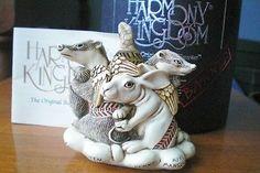 Harmony Kingdom Pot Bellys Evil trinket box in orig box with insert card