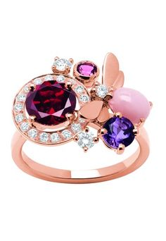 Chaumet has a very different idea about engagement rings; good for Chaumet.