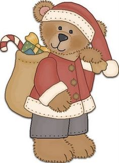 graphic garden another of my favorites 2 Clipart, Bear Clipart, Christmas Wood, Christmas Pictures, Christmas Crafts, Xmas, Christmas Clipart, Christmas Printables, Santa Claus Clipart