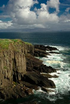 Dingle Peninsula - Dunbeg Cliffs,Ireland