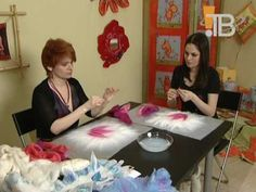 Валяние шарфика от художника-дизайнера Викторовой Веры.VOB - YouTube