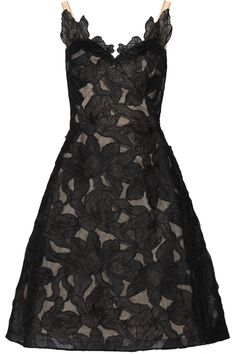 Shop on-sale Marchesa Notte Floral-embroidered organza dress. Browse other discount designer Dresses & more on The Most Fashionable Fashion Outlet, THE OUTNET.COM