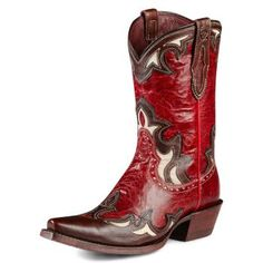 Ariat Reina Red - I weep, I yearn, I pine