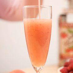 Raspberry Bellini - sounds delicious.