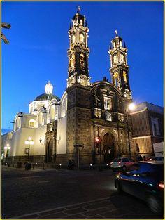 Templo San Cristóbal,Puebla de los Ángeles,México.
