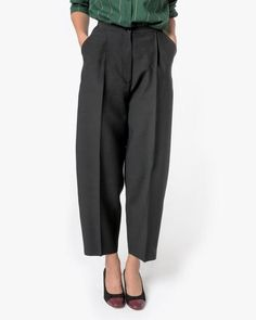 Mohawk - Lebel Trousers in Black - http://www.mohawkgeneralstore.com/products/lebel-trousers-in-black