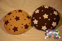 pan di stelle pillow  #cuscinideliziosi