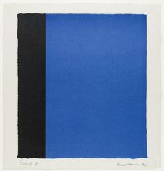 Barnett Newman. Canto IX from 18 Cantos. 1964
