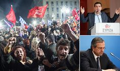 Anti-austerity party Syriza wins historic election in Greece
