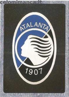 Calciatori 2014-2015: Fronte Figurina n. 4 Scudetto Atalanta