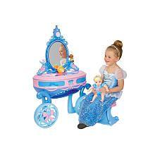 """Disney Princess Cinderella Carriage Vanity - Creative Designs - Toys """"R"""" Us   LINLEY"""