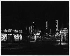1954-1959, Corner of Kneeland Street and Washington Street, 7:15 P.M.