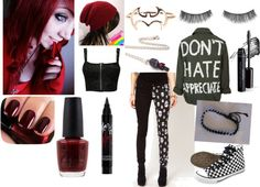 """""""Silence Is The Loudest Scream"""" by all-hells-bout-to-break-loose ❤ liked on Polyvore"""