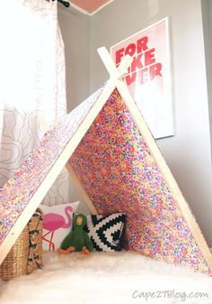 Make an A-Frame Play Tent