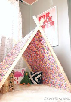 Make an A-Frame Play Tent