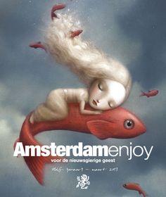 Cover half januari - maart 2013. Nicoletta Ceccoli