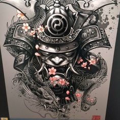 mascara samurai tattoos - Pesquisa Google                                                                                                                                                                                 More