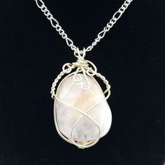 A personal favorite from my Etsy shop https://www.etsy.com/listing/217996631/rose-quartz-pendant-wire-wrapped-rose