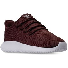 adidas Men's Tubular Shadow Casual Sneakers from Finish Line ($60) ❤ liked on Polyvore featuring men's fashion, men's shoes, men's sneakers, adidas mens sneakers, mens shoes, adidas mens shoes, mens breathable shoes and mens sneakers