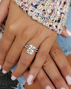 3 Carat Engagement Ring, Radiant Cut Engagement Rings, Dream Engagement Rings, Cushion Cut Engagement Rings, Morganite Engagement, 3 Karat Ring, 5 Carat Diamond Ring, Thin Diamond Band, Diamond City