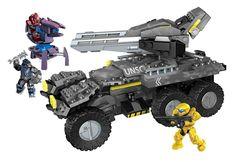 Mega Bloks Inc Mega Bloks - Halo - UNSC Anti-Armor Cobra (Lights & Sounds)