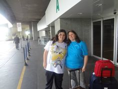 No Aeroporto do Galeão (Rio de Janeiro-RJ-Brasil)